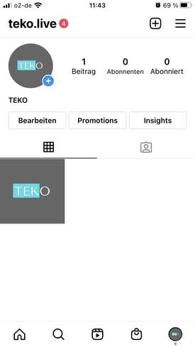 Instagram Beschreibung bearbeiten