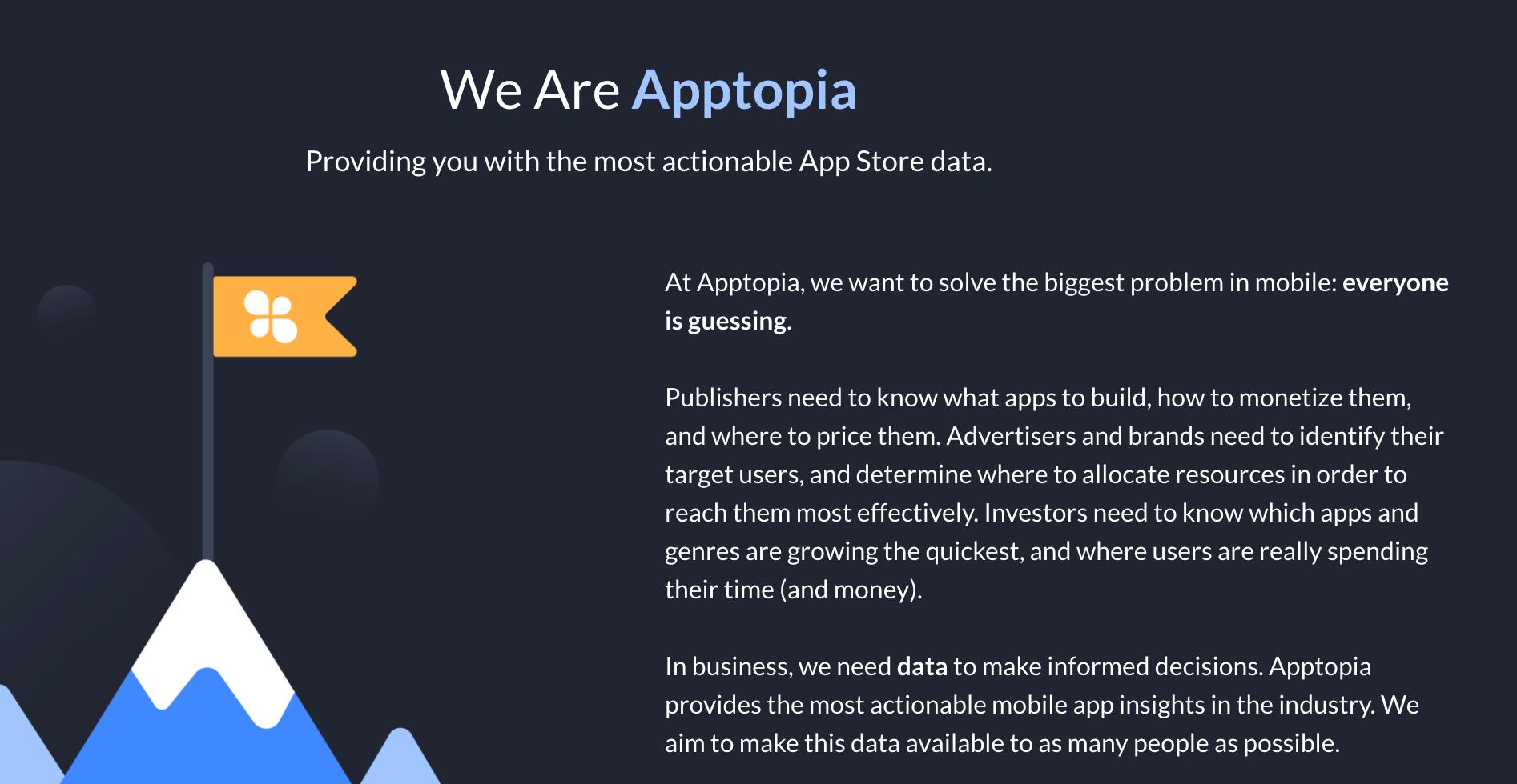 Über-uns-Seiten-Apptopia