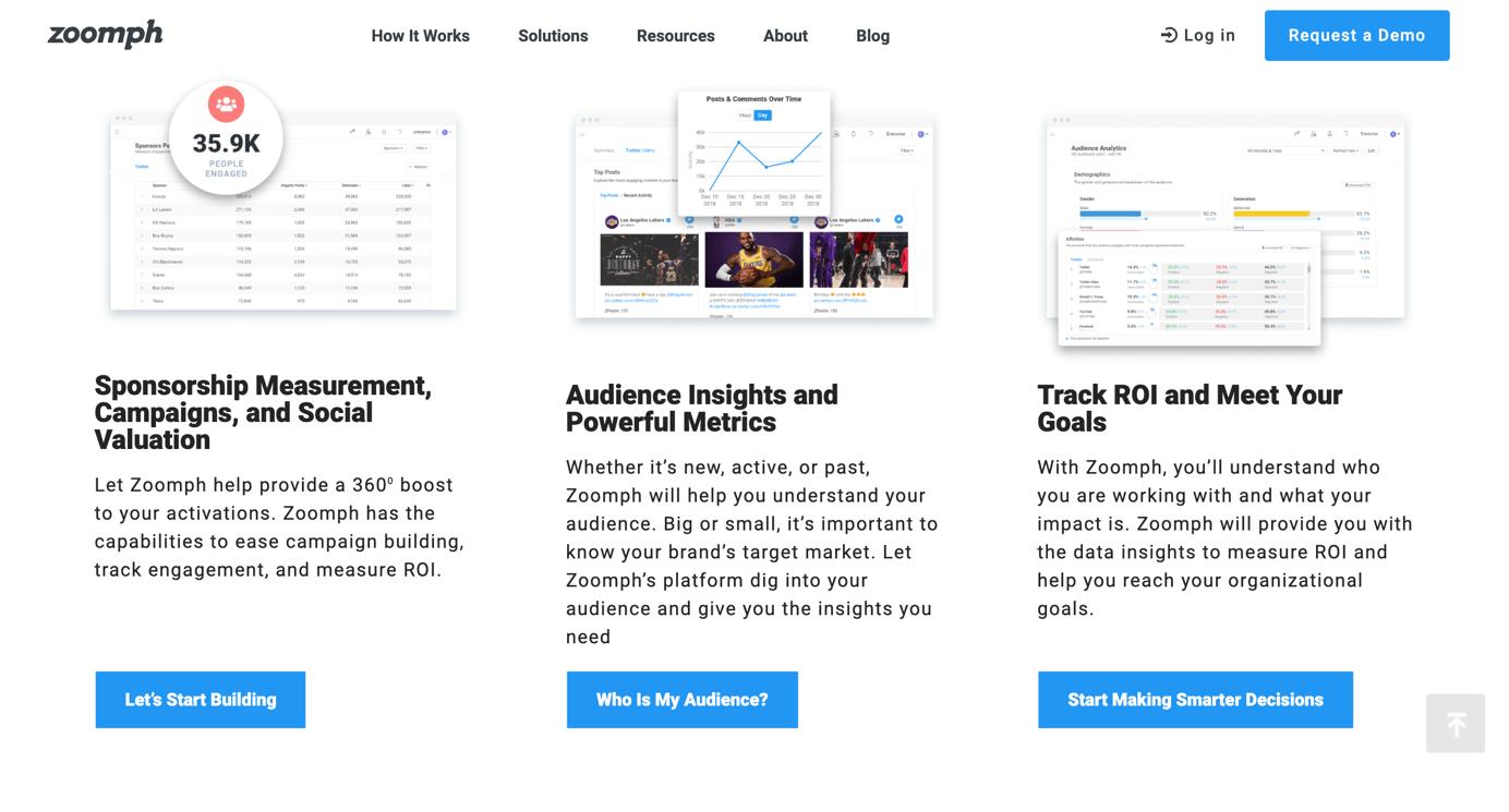 Zoomph Influencer Marketing Plattform