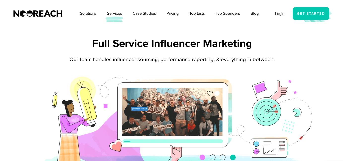 Neoreach Influencer Marketing Plattform