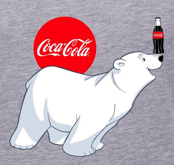 coca cola eisbär