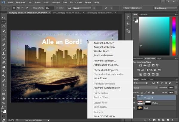 HubSpot-Photoshop-13-Auswahl-Kontextmenu