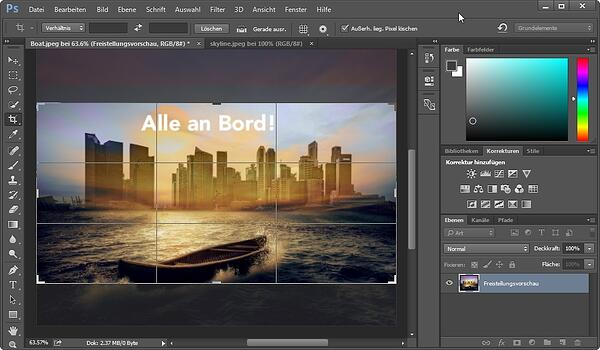 HubSpot-Photoshop-22-Freistellungswerkzeug-in-Aktion