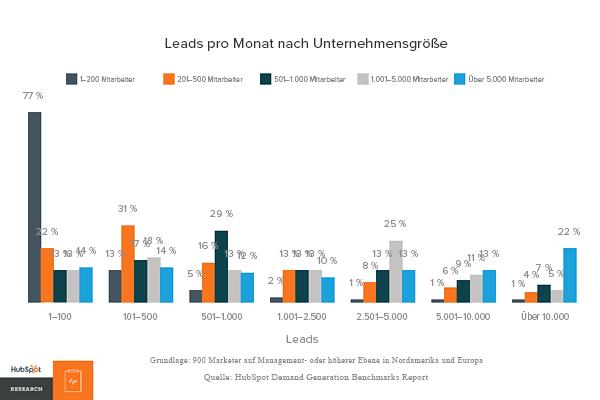HubSpot-Leads-nach-Unternehmensgroesse