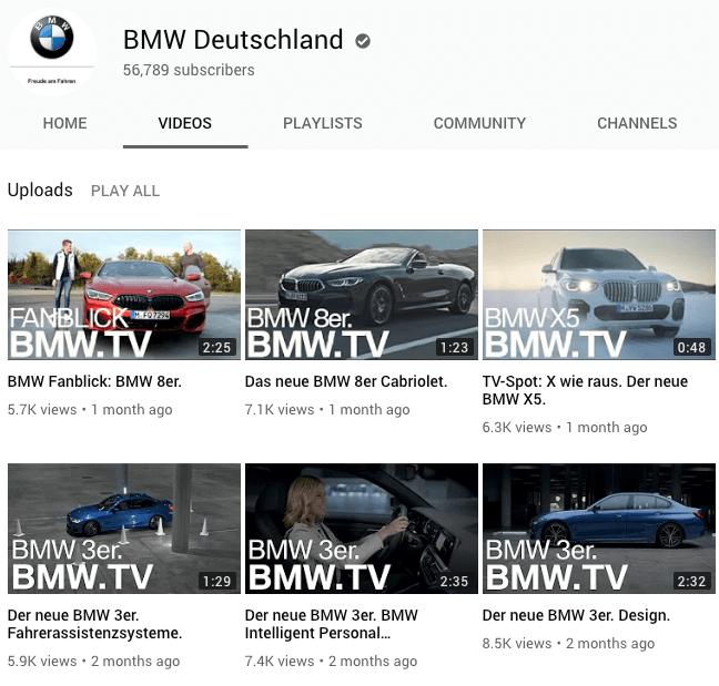 SEO-fuer-YouTube-Beispiel-BMW thumbnail design