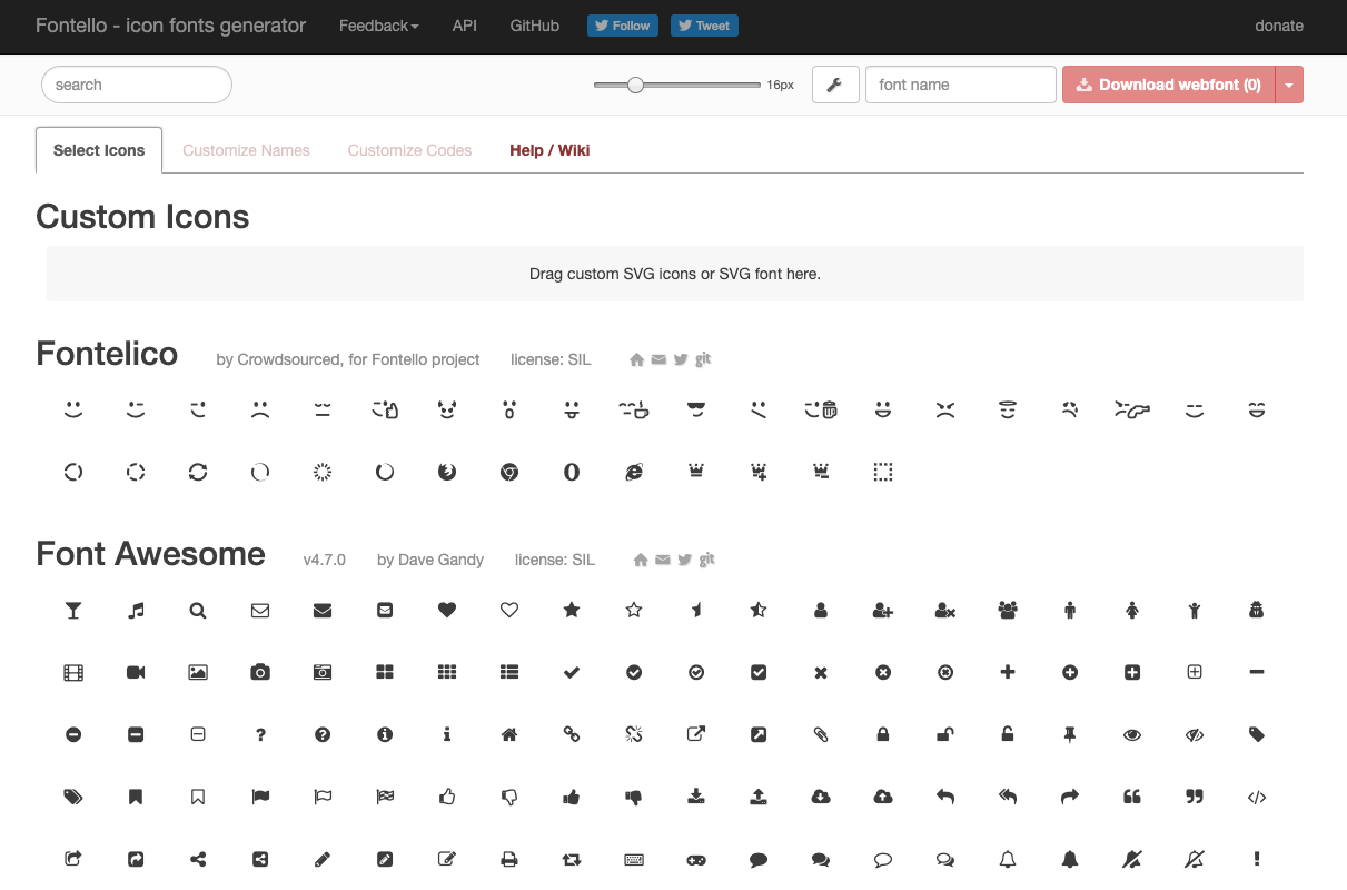 Screenshot-des-webdesign-tools-fontello