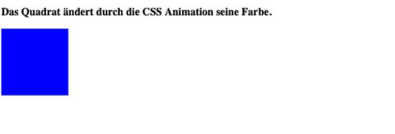 So nutzen Sie CSS Animationen 2