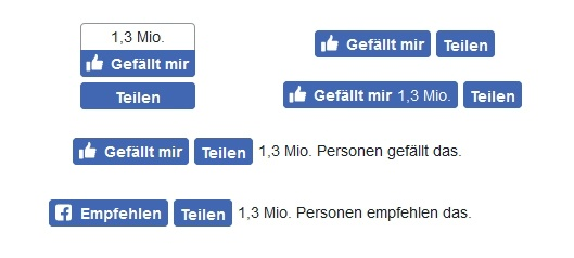 Spickzettel Social-Media-Buttons – Facebook-Like-Button