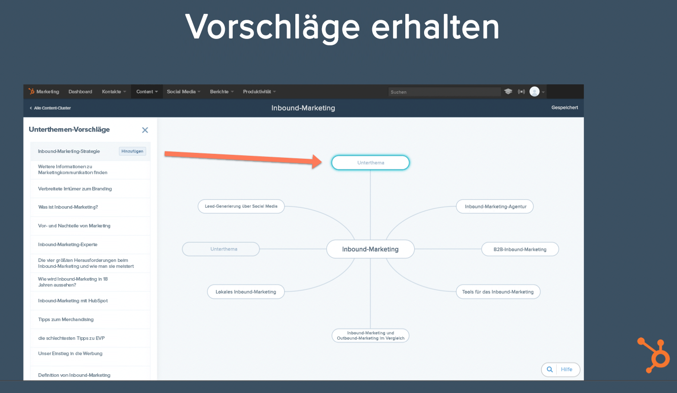 HubSpot-Themencluster-10-Content-Strategie-Tool