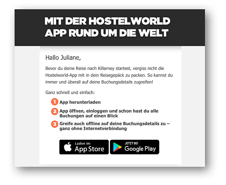 Marketing Automatisierung bei Hostelworld