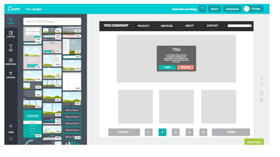 Webdesign-mit-canva