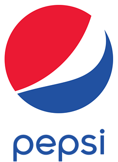 Word image brand Pepsi lettering
