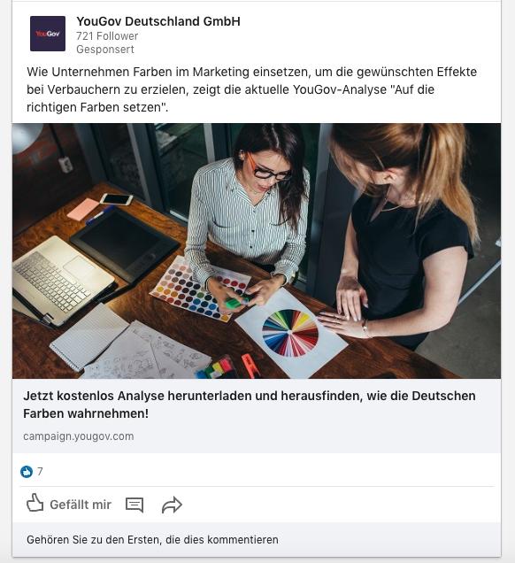 YOUGov-Linkedin-Werbung-Beispiel