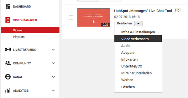 HubSpot-YouTube-Funktionen-Tipps-Tricks-15-Video-verbessern