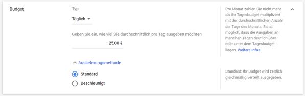 HubSpot-YouTube-Werbung-Budget