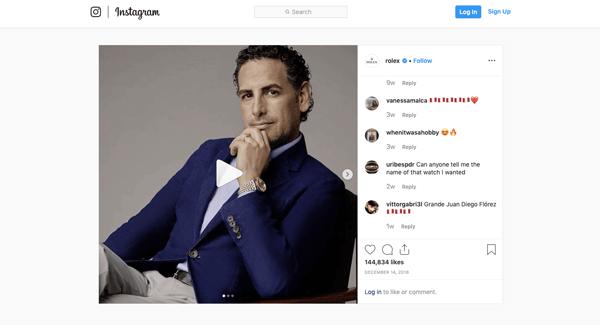 branding-rolex-instagram