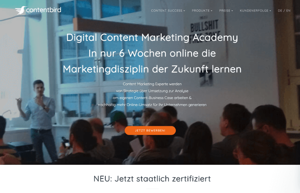 contentbird-academy