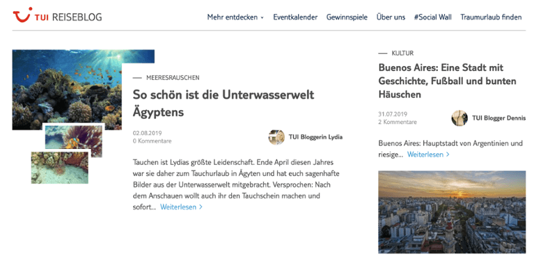 corporate-blog-beispiel-tui