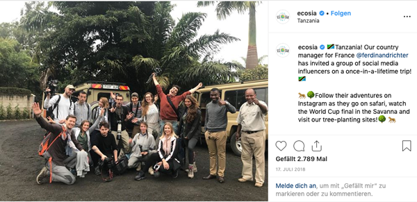 empfehlungsmarketing-beim-ecosia-im-instagram-profil