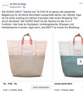 facebook-werbung-taschen-collection-ad