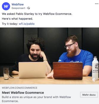 facebook-werbung-von-webflow