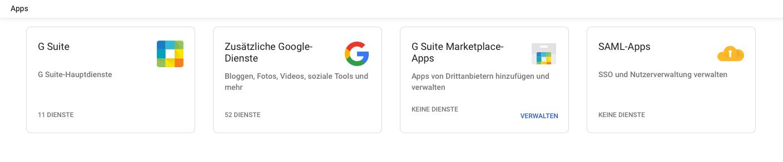 g suite leitfaden apps