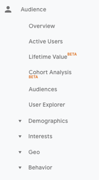 google analytics zielgruppenbericht