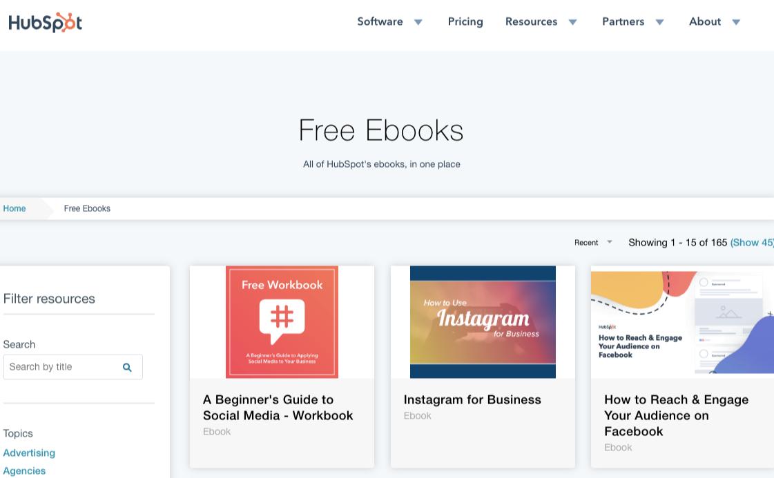 hubspot-free-ebooks