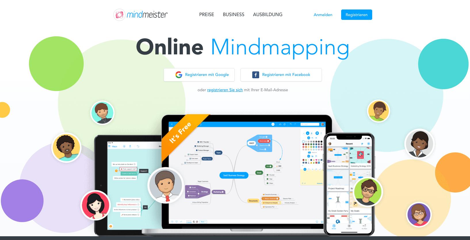 Brainstorming-mit-Mindmeister