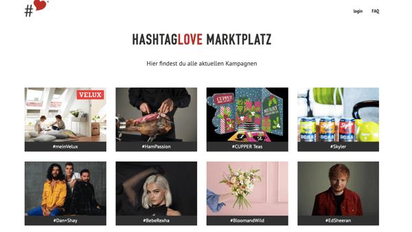 influencer-marketing-plattform-hashtaglove