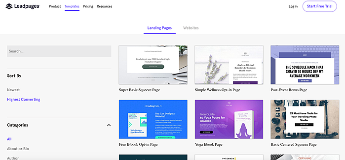leadpages-landing-page-vorlagen