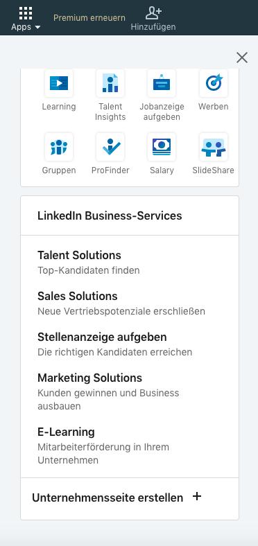 linkedin-unternehmensseite-erstellen