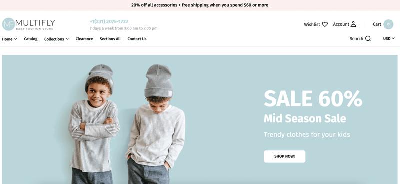 multifly-shopify-theme-vorschau