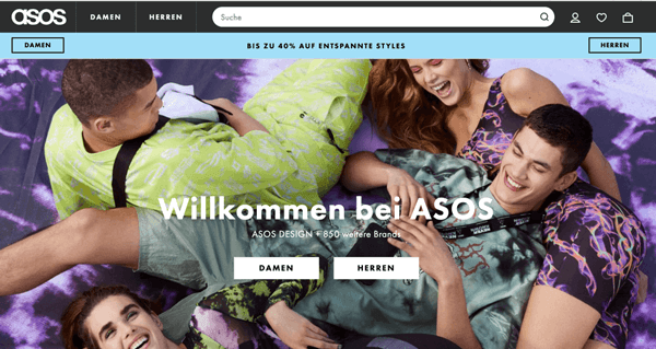 schoene-webseiten-asos-hauptseite-beispiel