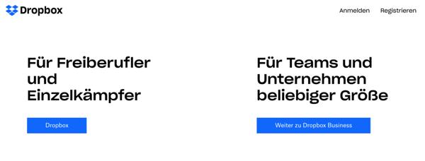 schoene-webseiten-dropbox-CTAs-auf-der-webseite