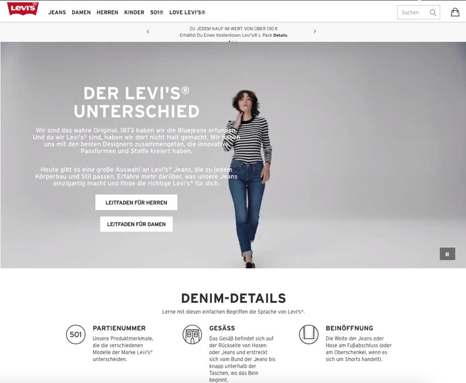 schoene-webseiten-levis