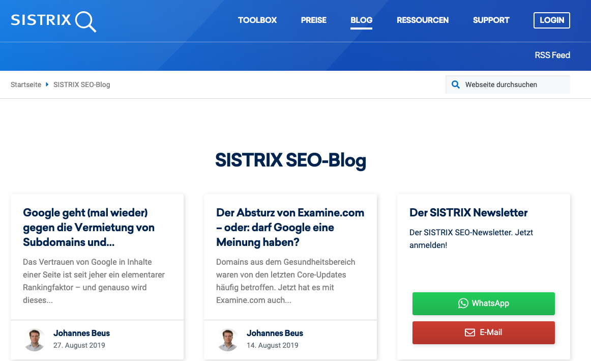 sistrix-seo-blog