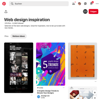 webdesign-inspiration-auf-pinterest