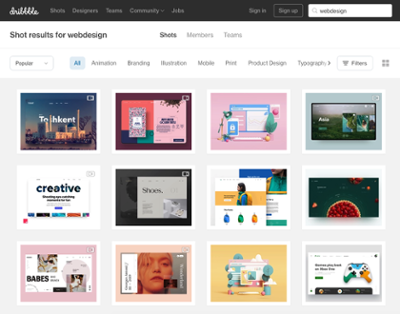 webdesign-inspiration-dribble-webseite
