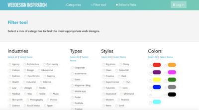 webdesign-inspiration-filter