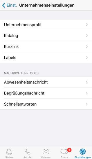 whatsapp-business-unternehmensinfos