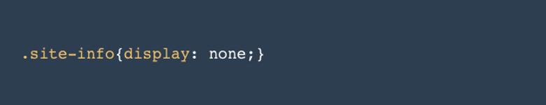 Footer in WordPress bearbeiten css code