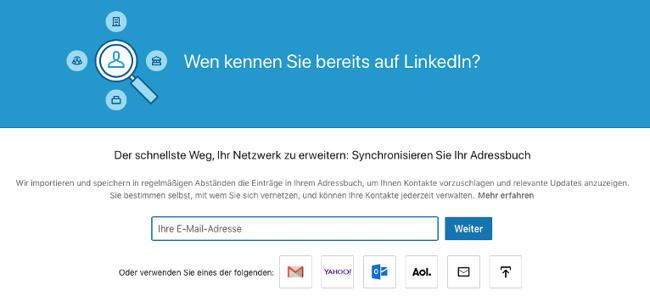 LinkedIn-Kontakte exportieren: Wen kennen Sie bereits auf Linkedin?
