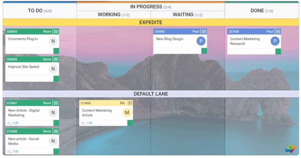 Projektmanagement-Tools-kanban-board