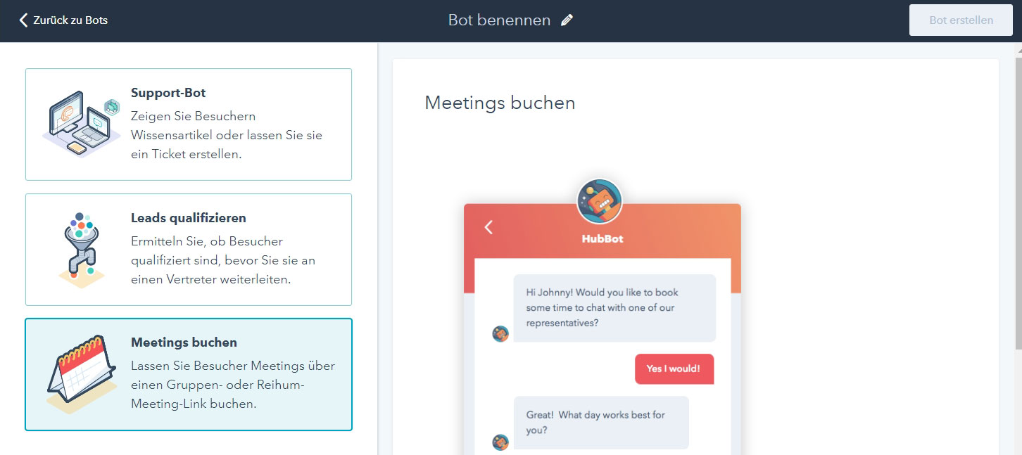 chatbot-mit-hubspot-kostenfrei