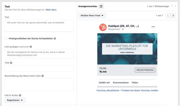 HubSpot-Facebook-Anzeigen-07-Anzeigenvorschau