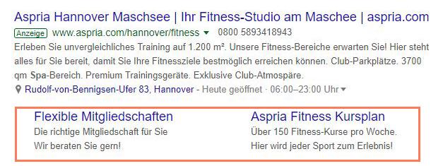 HubSpot-Google-Anzeigen-03-Sitelink-Erweiterung