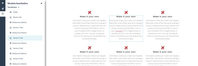 HubSpot Landing-Page Module