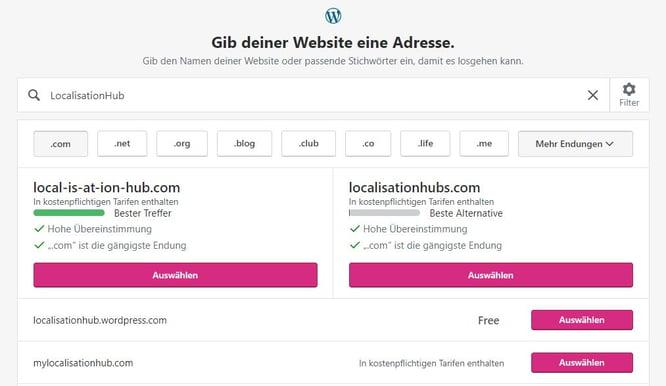 HubSpot Wordpress Website Domain