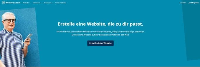 HubSpot Wordpress Website erstellen